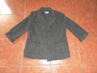 Ladies Per Una Jacket. Size 18 Grey