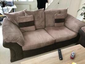 Very comfortable 3 set sofa