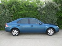 FORD MONDEO 1.8LX, 5 DOOR HATCHBACK, 2006, ONLY 1 ELDERLY OWNER FROM 6 MONTHS OLD.
