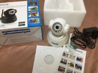 Baby monitor/Home monitor camera in white
