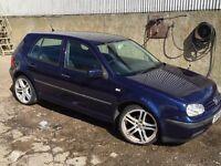 1.4 VW Golf 2002 51 Plate (9 month MOT)