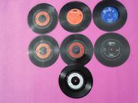 7 ' THE WHO ' Original 45rpm Vinyl Singles Records
