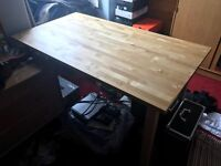 IKEA Norden Table Desk Study Kitchen Dining Pine Large