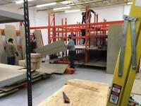 Racking / shelving for warehouse.