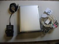 SKY BROADBAND ROUTER JUNCTION BOX WITH PHONE LINES AND ADAPTORS