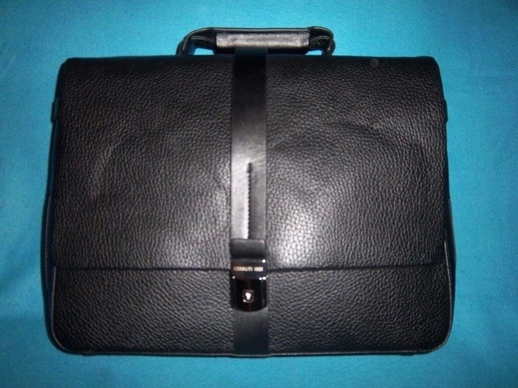 026a9ce201 New Cerruti 1881 Black Briefcase / Document Bag IP1 | in Ipswich ...