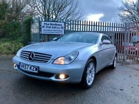 2007 MERCEDES CLS 320 CDI AUTO COUPE DIESEL SILVER