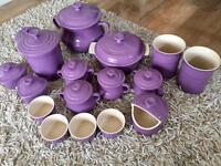 Le Creuset Lilac - 17 piece set