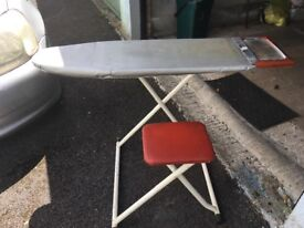 Very unusual sit at ironing board