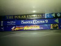 Christmas DVD bundle set of 3