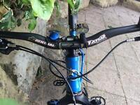 Orange crush custom trail bike