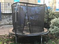 7ft trampoline with surround