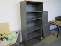 Used Tall Grey Bookcase
