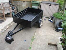 metal box trailer