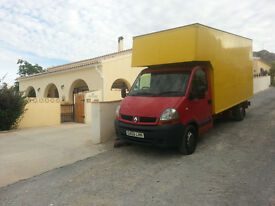 Renault Master Luton van