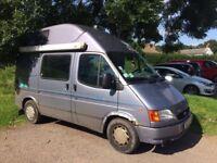 Ford Nugget (Transit) Westfalia Campervan 5 berth MOT until May