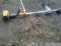 petrol strimmer brushcutter good working order heavy duty industrial machine