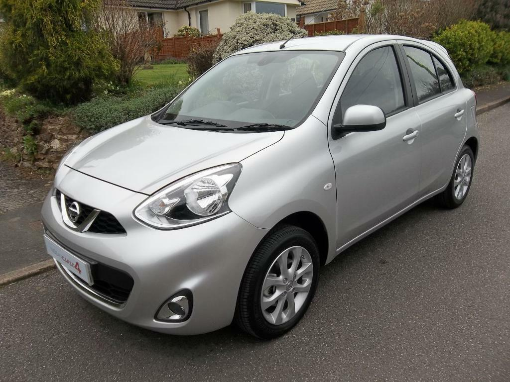 nissan micra 1 2 acenta connect 5dr blade silver 2016 in sidmouth devon gumtree. Black Bedroom Furniture Sets. Home Design Ideas