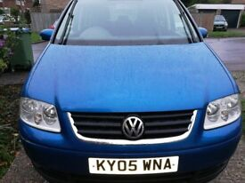 Emigrating and needing to sell our VW Touran - 7 seater!!! Neg Price!