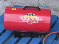 Clarke Devil 850 Propane Fired Space Heater