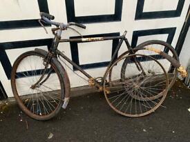 Vintage bike restoration or display