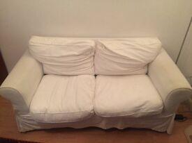 Free white Ikea Ektorp 2 seater sofa