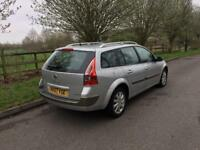 2007 Renault Megane 1,9 litre diesel 5dr estate 12 months mot