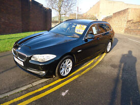 2011 BMW 520 SE ESTATE FULL MAIN DEALER SERVICE HISTORY 12 M MOT 3 M NATIONWIDE WARRANTY 2 FORMERS