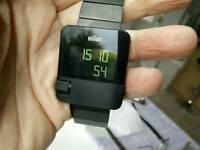 Braun digital prestige watch