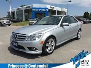 2010 Mercedes-Benz C-Class C300| Leather|Sunroof|Navigation