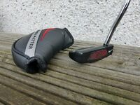 Nike Method Matter Putter. 35 inches, with headcover and brand new Superstroke 2.0 grip