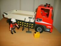 Playmobil 5283 Construction Truck with driver
