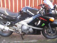 Motorbike kawasaki zzr