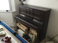 Lovely Upright Piano Free to collector