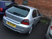 2005 Rover 25--motd,service history,remote key,alloys,ac,cd,excellent runner,5 doors,clean and tidy
