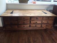 Laura Ashley coffee table /storage unit... £150