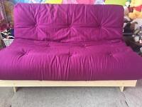 Sofa bed style futon