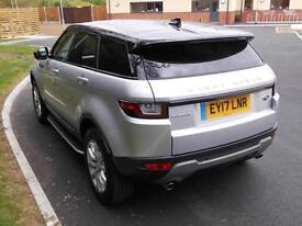 Land Rover Range Rover Evoque TD4 SE TECH (silver) 2017-03-15