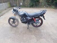 sinnis max 2 125cc 2016 ( same as a yamaha ybr)