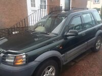 Land Rover Freelander 50th Annu Limited edition - For sale or use for parts - £500 or nearest offer