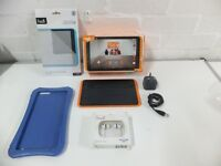 ORANGE HUDL 2 QUAD CORE ANDROID TABLET WITH ACCESSORIES