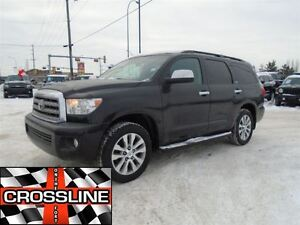 2014 Toyota Sequoia Limited 5.7L V8 / Fully Loaded / Guaranteed