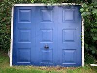 Garage Door - Blue - up and over