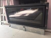 Gazco Studio 2 wall mounted gas glass fronted balanced flue fire