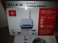 Belkin wireless G Gaming Adapter and wireless G Router