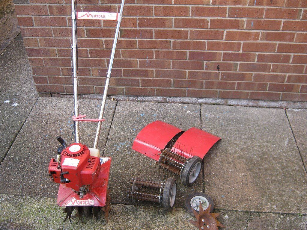 Mantis Tiller 2-stroke mini garden tiller / cultivator / rotavator &  accessories | in Ossett, West Yorkshire | Gumtree