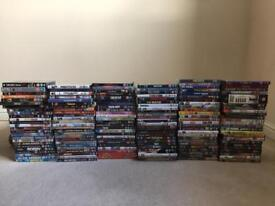 150 x DVD's - Job Lot (all contain Disks / Very Good Condition)