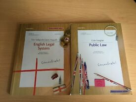 2 LAW BOOKS - CONCENTRATE