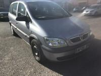 2005 vauxhal zafira 1.6 life 80 k mls long mot 7 seater ac cd immaculate fam owned bargain