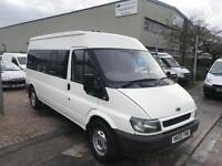 2003 03 TRANSIT VAN /MINIBUS PART CONVERTED FOR CAMPER/DAY VAN SUPERB DRIVE V...